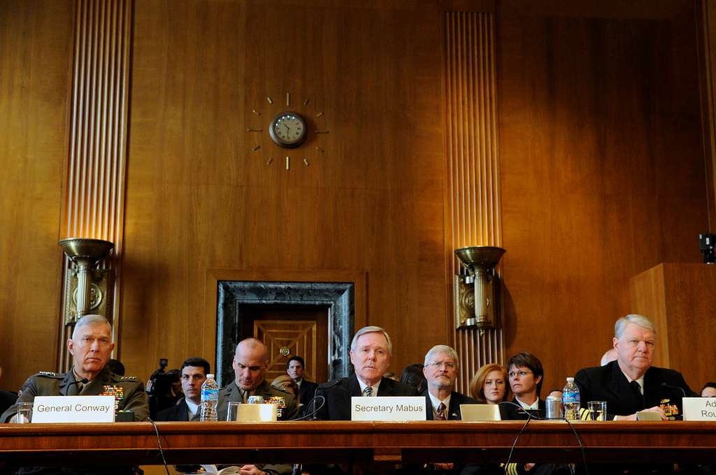 Navy leadership testify before the Senate Appropriations Committee for Defense regarding the fiscal year 2011 National Defense Budget request.
