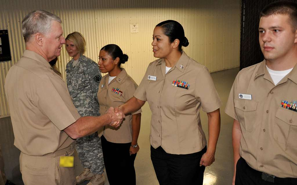 CNO visits Space and Naval Warfare Systems Command.