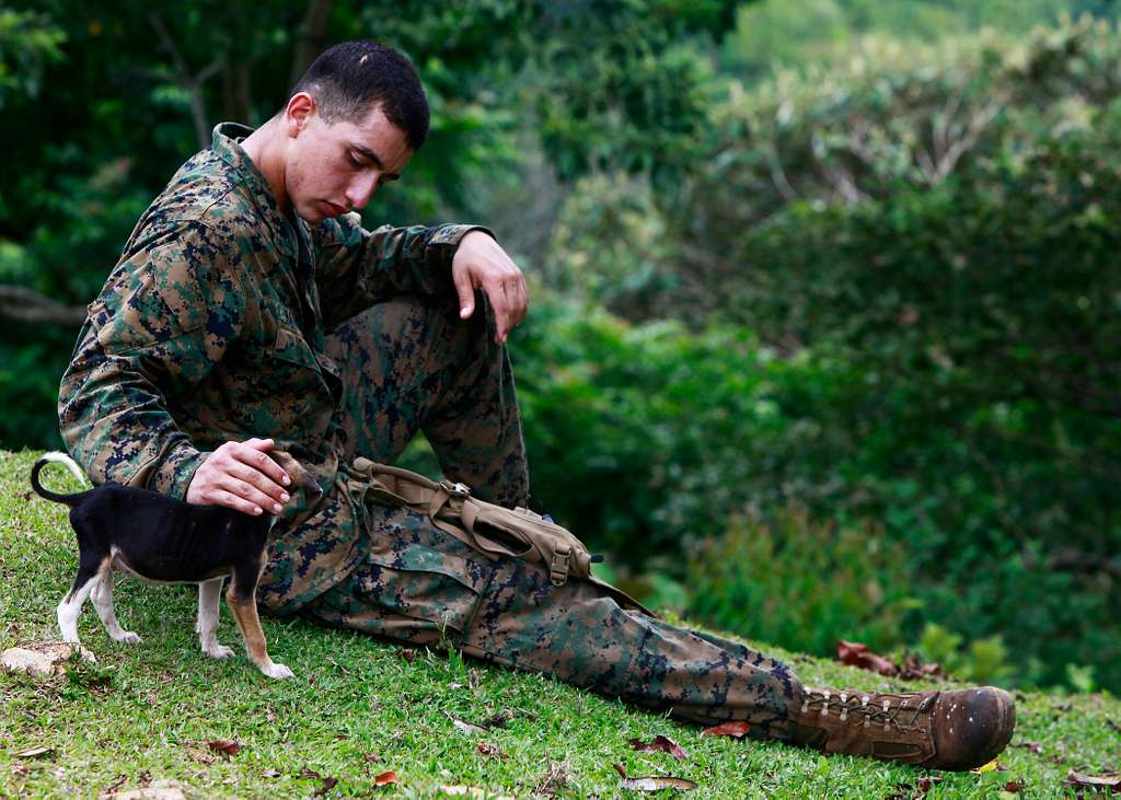 Lance Cpl. Alejandro Matuska, a crewman assigned to Special-Purpose Marine Air-Ground Task Force Continuing Promise 2010,