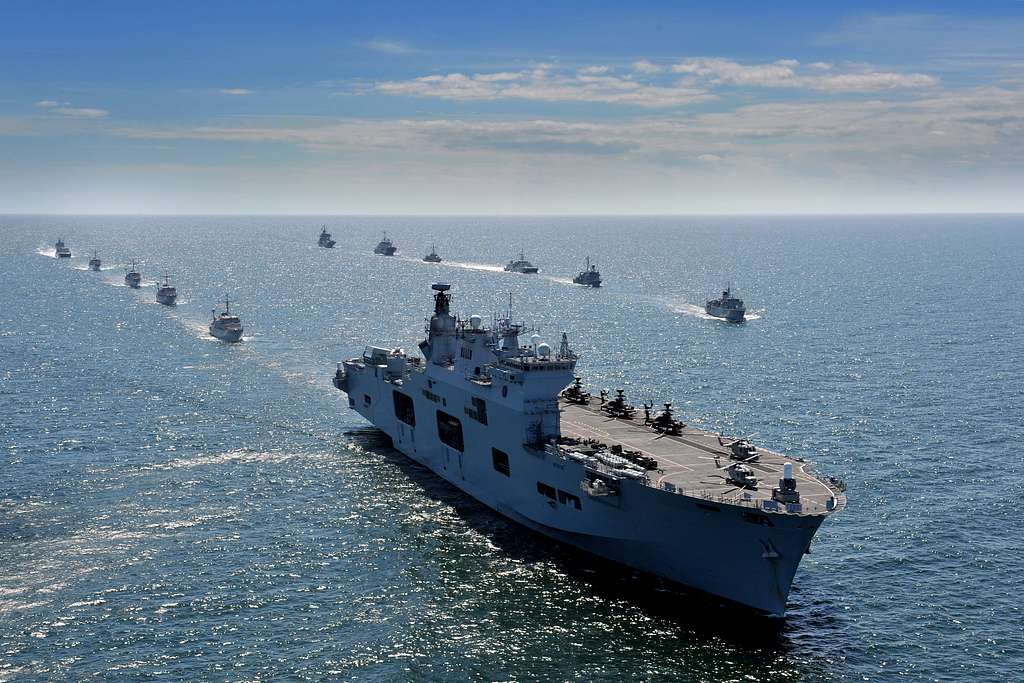 Maritime forces from 17 nations are underway in formation for BALTOPS 2015.